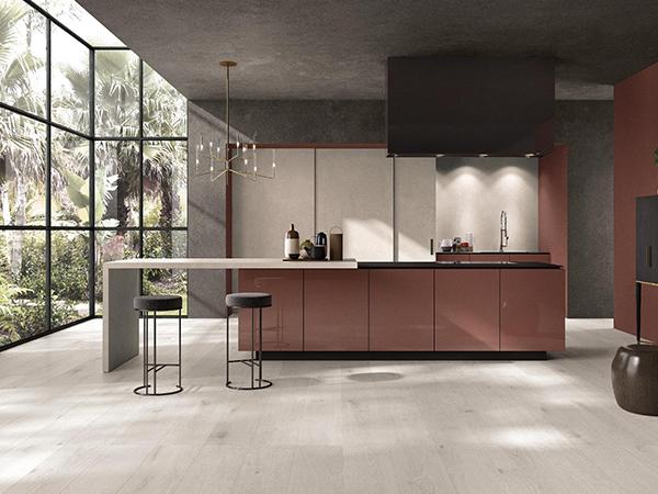 Moderne Fliesen in Küche, ABK, Fliesengalerie Burgkunstadt